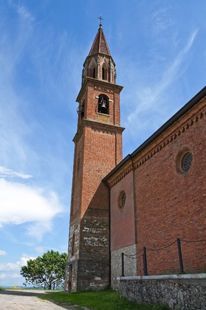 St. Lorenzo Church. Veano. Emilia-Romagna. Italy. Stock Photo - 13314433