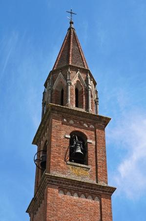St. Lorenzo Church. Veano. Emilia-Romagna. Italy. Stock Photo - 13314494