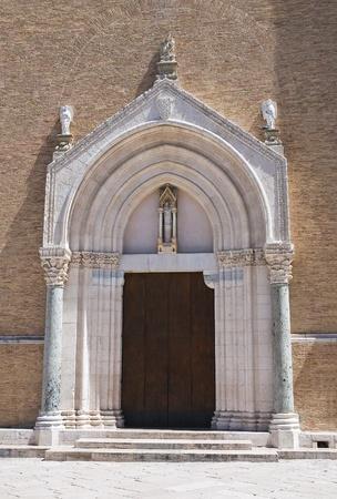 Cathedral Basilica. Lucera. Puglia. Italy. photo