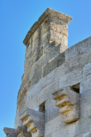Queens tower. Castle of Lucera. Puglia. Italy.
