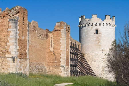 Castle of Lucera. Puglia. Italy. Stock Photo - 13386434