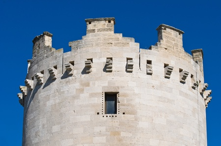 Queen's tower. Castle of Lucera. Puglia. Italy. Stock Photo - 13386429
