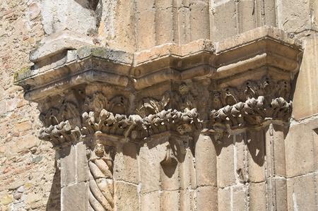 francesco: Sanctuary Church of St. Francesco. Lucera. Puglia. Italy. Stock Photo