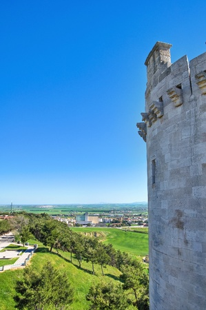 Castle of Lucera  Puglia  Italy  Stock Photo - 13386438