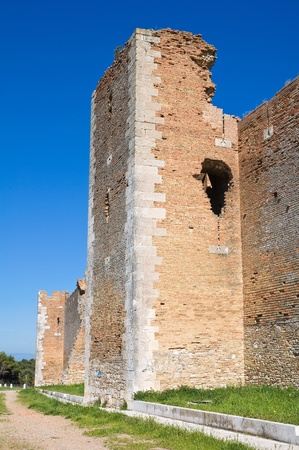 Castle of Lucera  Puglia  Italy