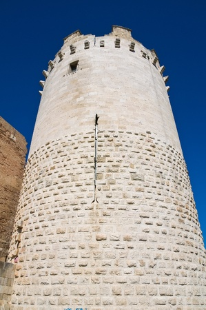 Queen tower  Castle of Lucera  Puglia  Italy