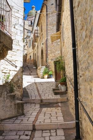 Alleyway  Pietramontecorvino  Puglia  Italy  photo