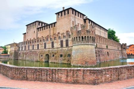 architectural architectonic: Rocca Sanvitale. Fontanellato. Emilia-Romagna. Italy.