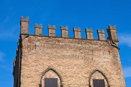 Rossi Fortress of San Secondo Parmense. Emilia-Romagna. Italy. photo