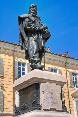 garibaldi: Giuseppe Garibaldi bronze statue.