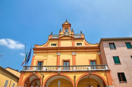 municipal: Municipal building  Cento  Emilia-Romagna  Italy