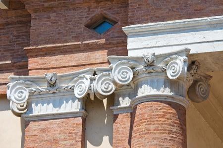 camillo: Old Hospital of St  Camillo  Comacchio  Emilia-Romagna  Italy  Stock Photo