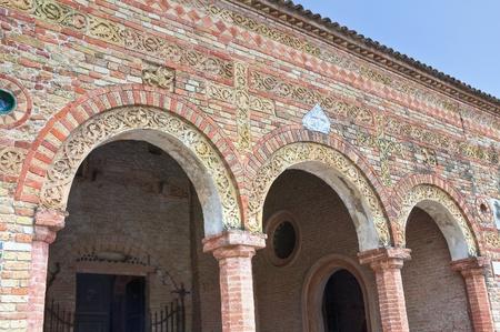 Pomposa Abbey  Codigoro  Emilia-Romagna  Italy  photo