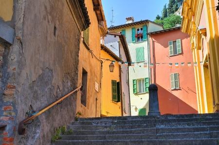 architectural architectonic: Alleyway  Brisighella  Emilia-Romagna  Italy  Stock Photo
