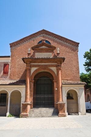 oratorio: Oratorio di S. Anna. Ferrara. Emilia-Romagna. L'Italia. Editoriali