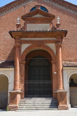 oratory: Oratory of St. Anna. Ferrara. Emilia-Romagna. Italy. Editorial