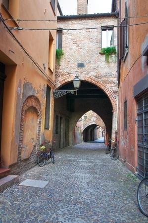 Street of the Vaults. Ferrara. Emilia-Romagna. Italy. Stock Photo - 13736544