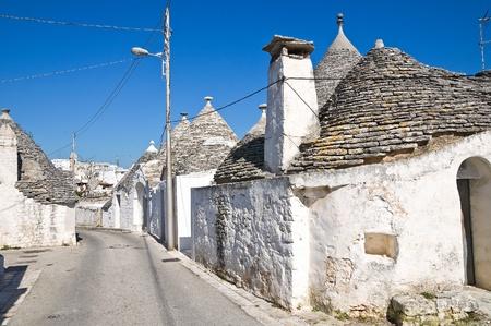 trulli: Alberobellos Trulli. Puglia. Italy.
