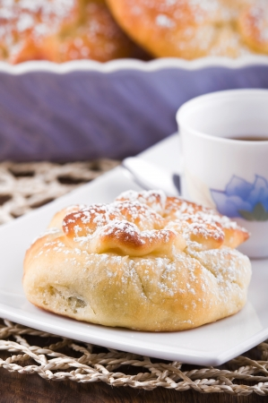 Breakfast with brioches Stock Photo - 13781985