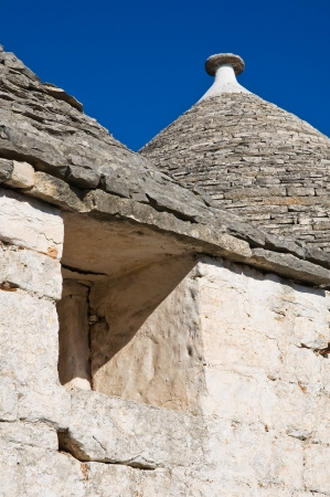 Alberobello trulli  Puglia  Italy  Stock Photo - 13782071
