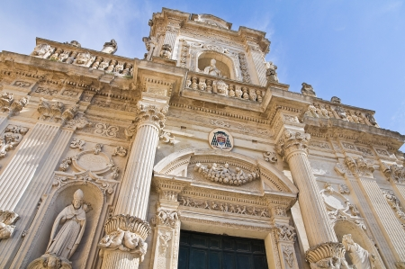 Cathedral of Lecce. Puglia. Italy. photo