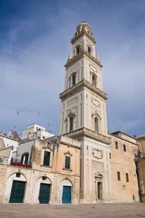 Cathedral Belltower. Lecce. Puglia. Italy. photo