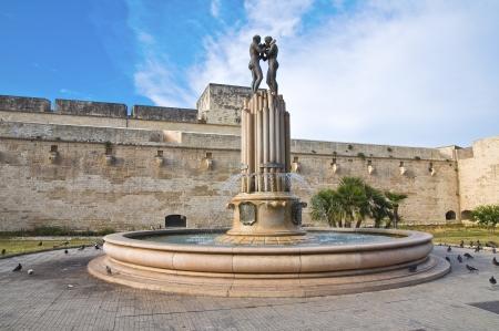 Fountain of Hrmony. Lecce. Puglia. Italy.