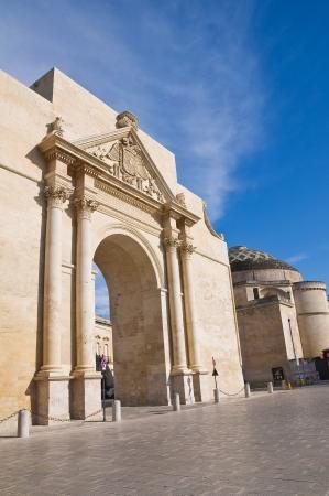 Neapolitan Gate  Lecce  Puglia  Italy