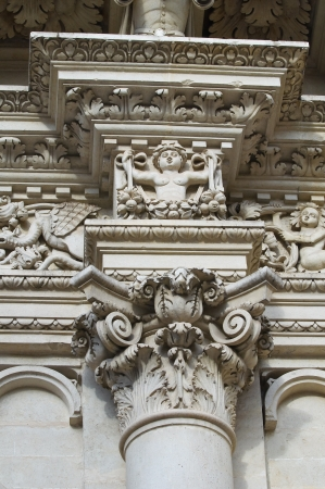 Santa Croce Basilica. Lecce. Puglia. Italy. Reklamní fotografie
