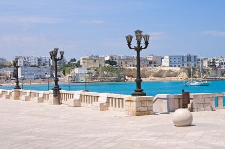 Panoramic view of Otranto  Puglia  Italy  photo