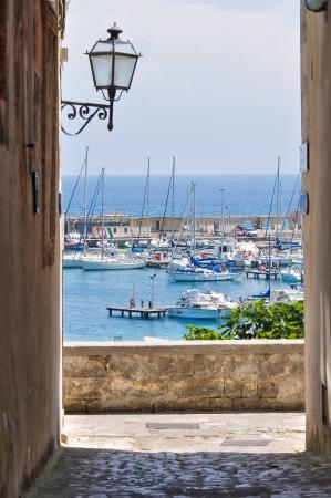 Veduta di Otranto. Puglia. L'Italia.