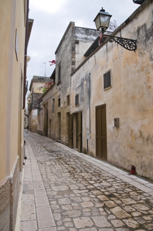 Alleyway  Martano  Puglia  Italy  photo