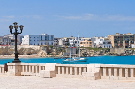 Panoramic view of Otranto. Puglia. Italy. Stock Photo - 13935725
