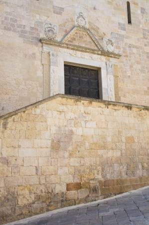 wood panelled: Cathedral of Otranto  Puglia  Italy