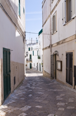 Alleyway. Otranto. Puglia. Italy. photo