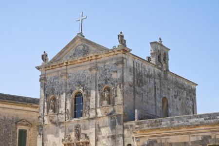 immaculate: Iglesia de la Inmaculada Concepci�n. Martano. Puglia. Italia. Foto de archivo
