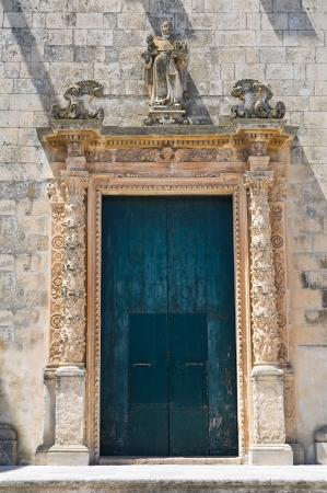 Church of Rosary. Martano. Puglia. Italy. photo