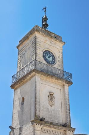 clocktower: Clocktower. Martano. Puglia. Italy.