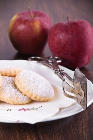 Apple filled cookies. Stock Photo - 14027461