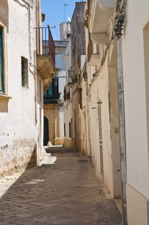 Alleyway  Soleto  Puglia  Italy  photo