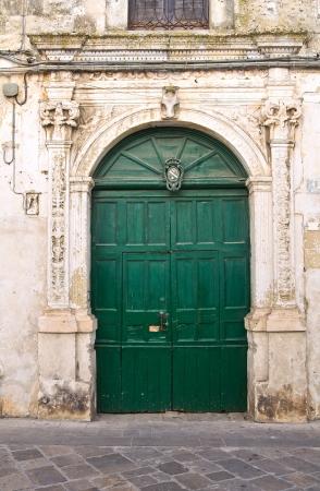 monti: De Monti palace  Corigliano di Otranto  Puglia  Italy