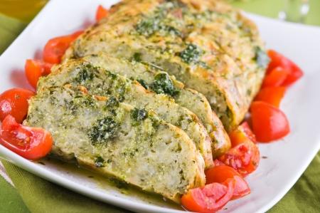 Vegetable meatloaf. Stock Photo - 14038259