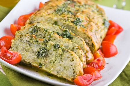 Vegetable meatloaf.  Stock Photo - 14038259