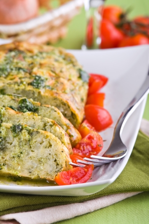 Vegetable meatloaf. Stock Photo - 14027464