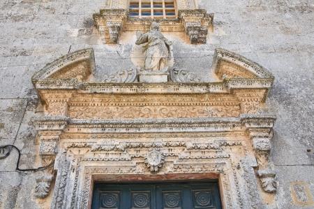 Church of Immacolata  Castrignano dei Greci  Puglia  Italy  photo