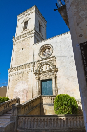 St  Nicola Mother Church  Corigliano di Otranto  Puglia  Italy  photo