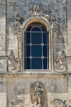 immaculate: Church of Immaculate Conception  Martano  Puglia  Italy
