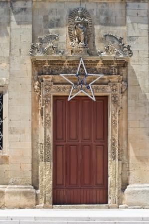 immaculate: Iglesia de la Inmaculada Concepci�n Martano Puglia Italia Foto de archivo