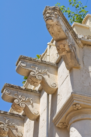 Historical palace  Soleto  Puglia  Italy  photo