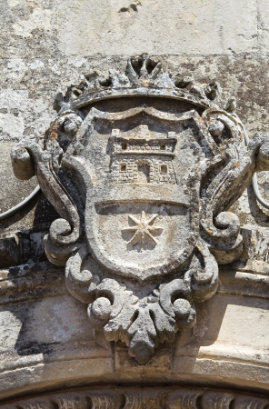 Coat of arms  Martano  Puglia  Italy  photo